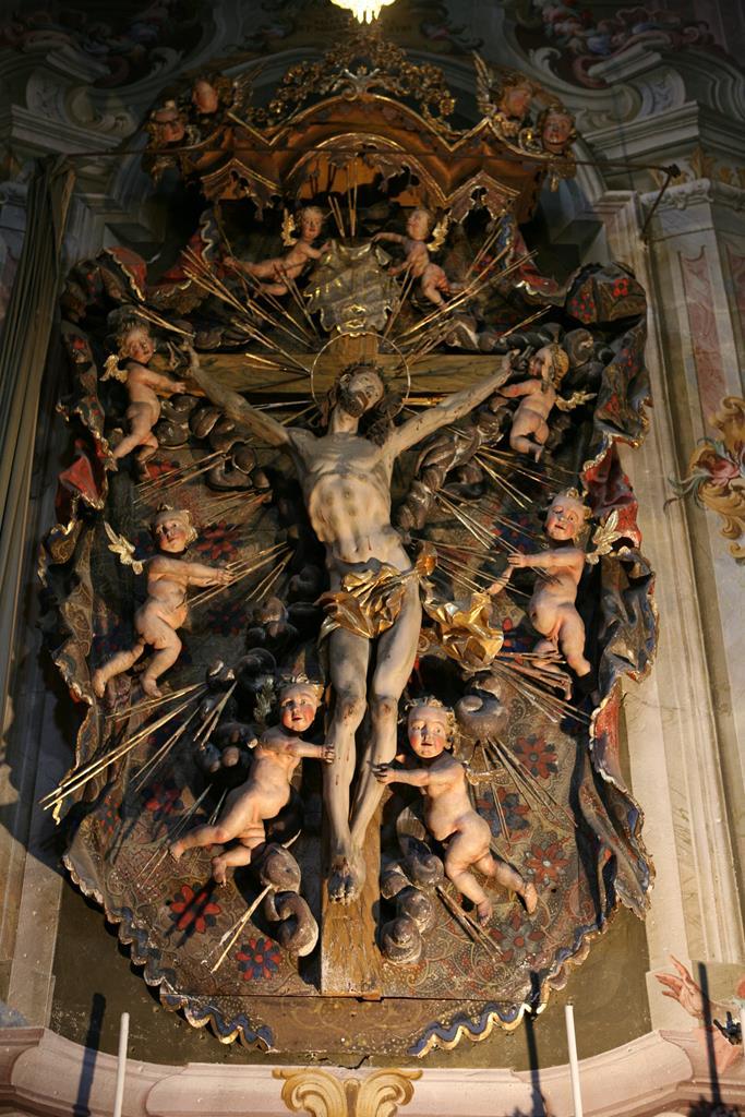 Altari-Altare chiesa parrocchiale di Macugnaga (VB)-2