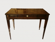 Tavolino intarsiato neoclassico
