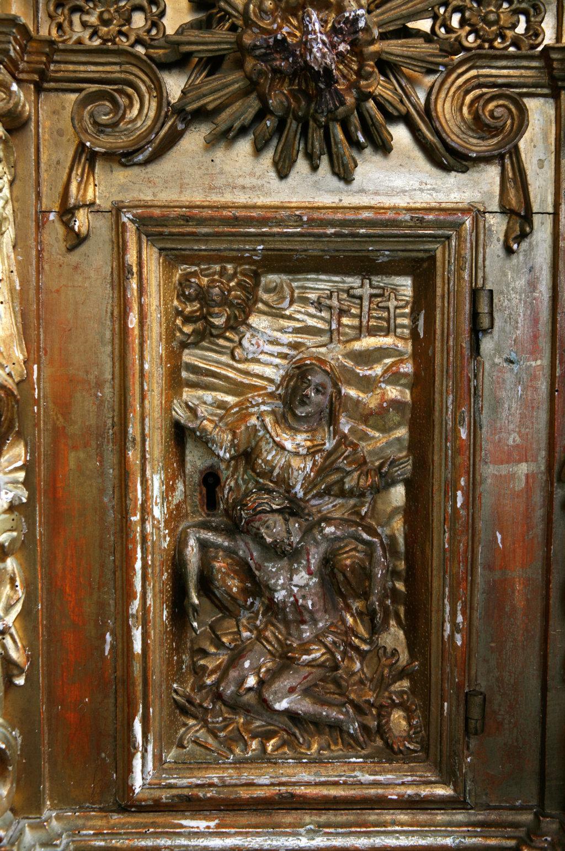 tabernacolo prima del restauro