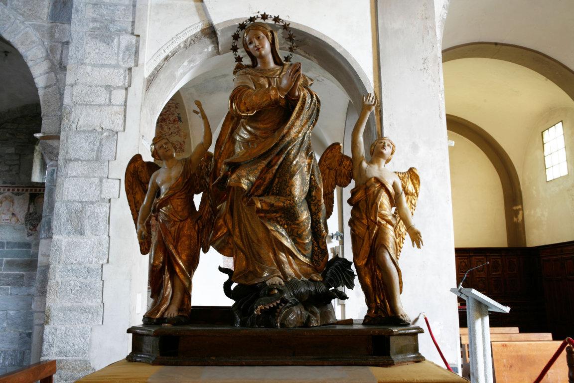 madonna assunta prima del restauro