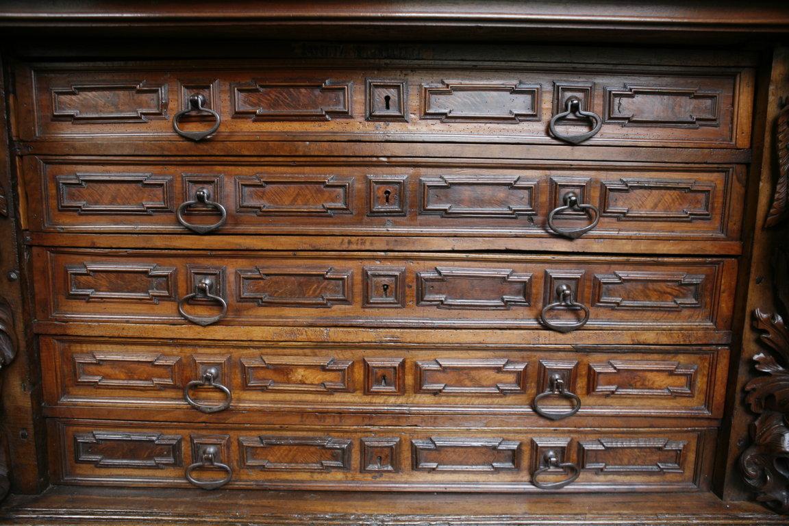 cassetti dopo il restauro