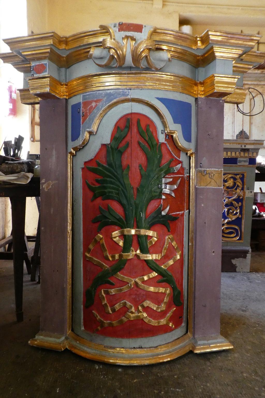 nicchie lato altare