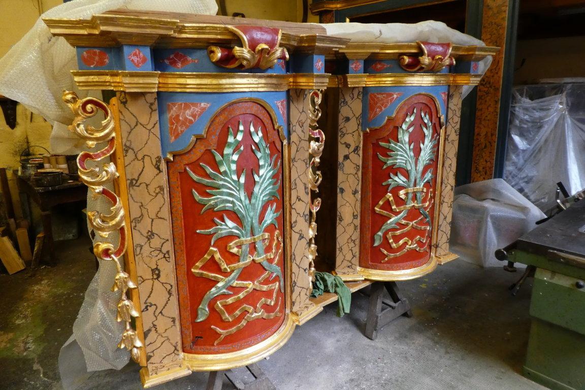 nicchie lati altare