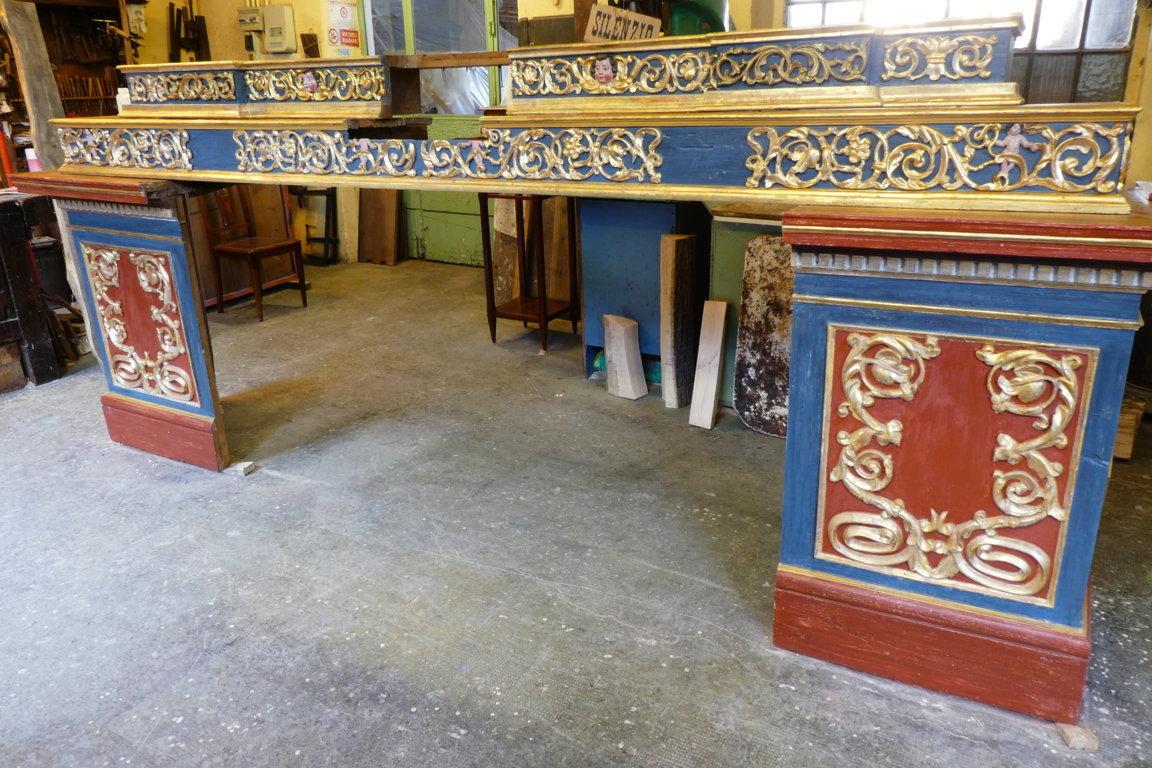 altare dopo il restauro