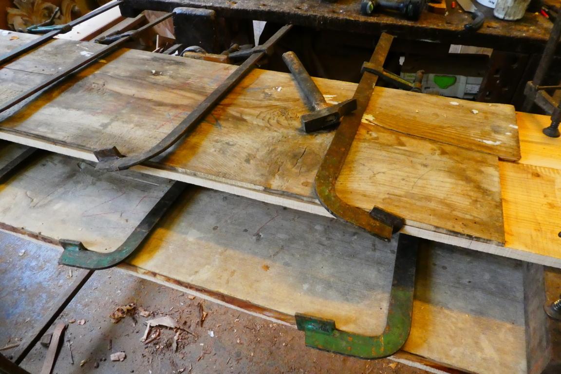 panche lignee restauro assito