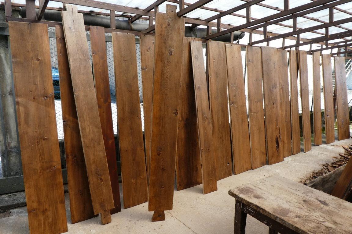 panche lignee assito dopo il restauro