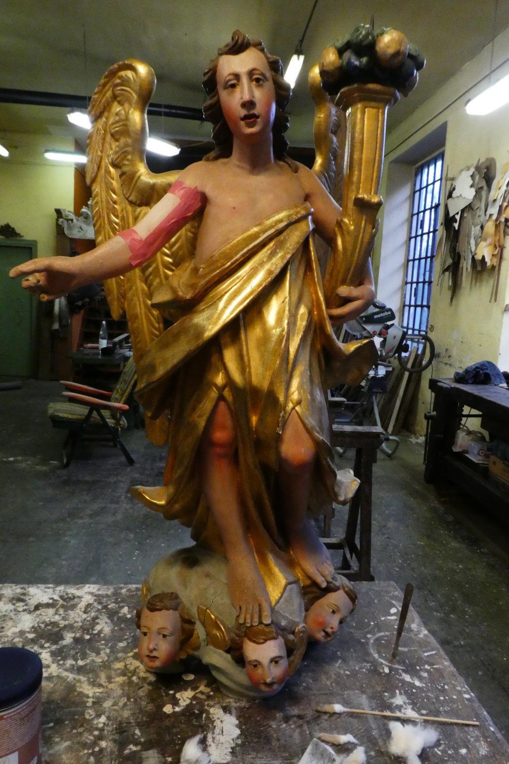 Angeli prima del restauro