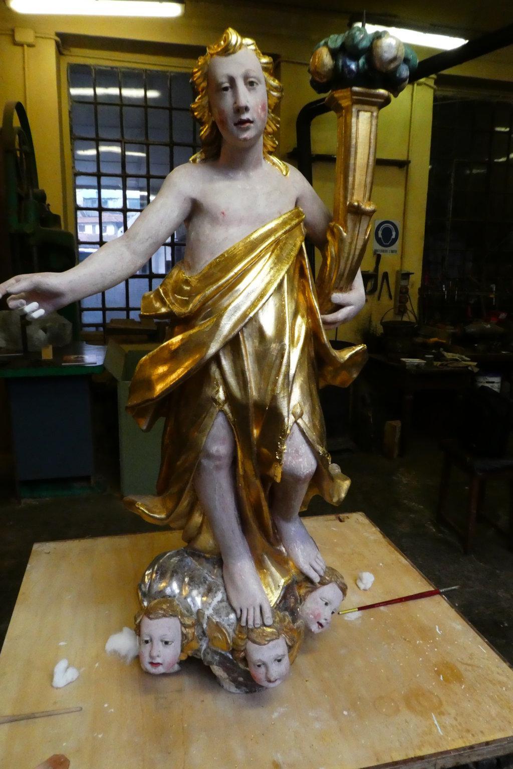 Angeli dopo il restauro